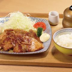 生姜焼きプレート ¥1,050