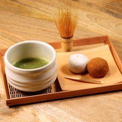 お抹茶セット(大 福) ¥950