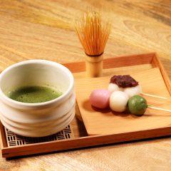 お抹茶セット(団 子) ¥950