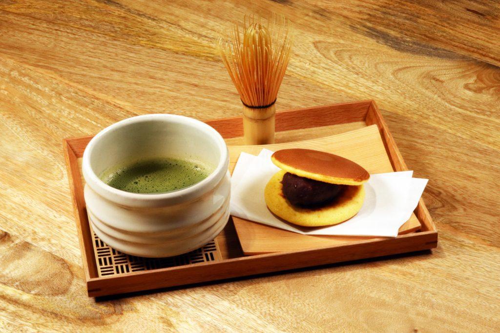 お抹茶セット(どらやき)