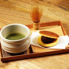 お抹茶セット(どらやき) ¥950