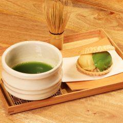お抹茶セット(最中アイス) ¥950
