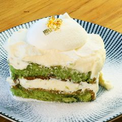 抹茶のスコップケーキ ¥850